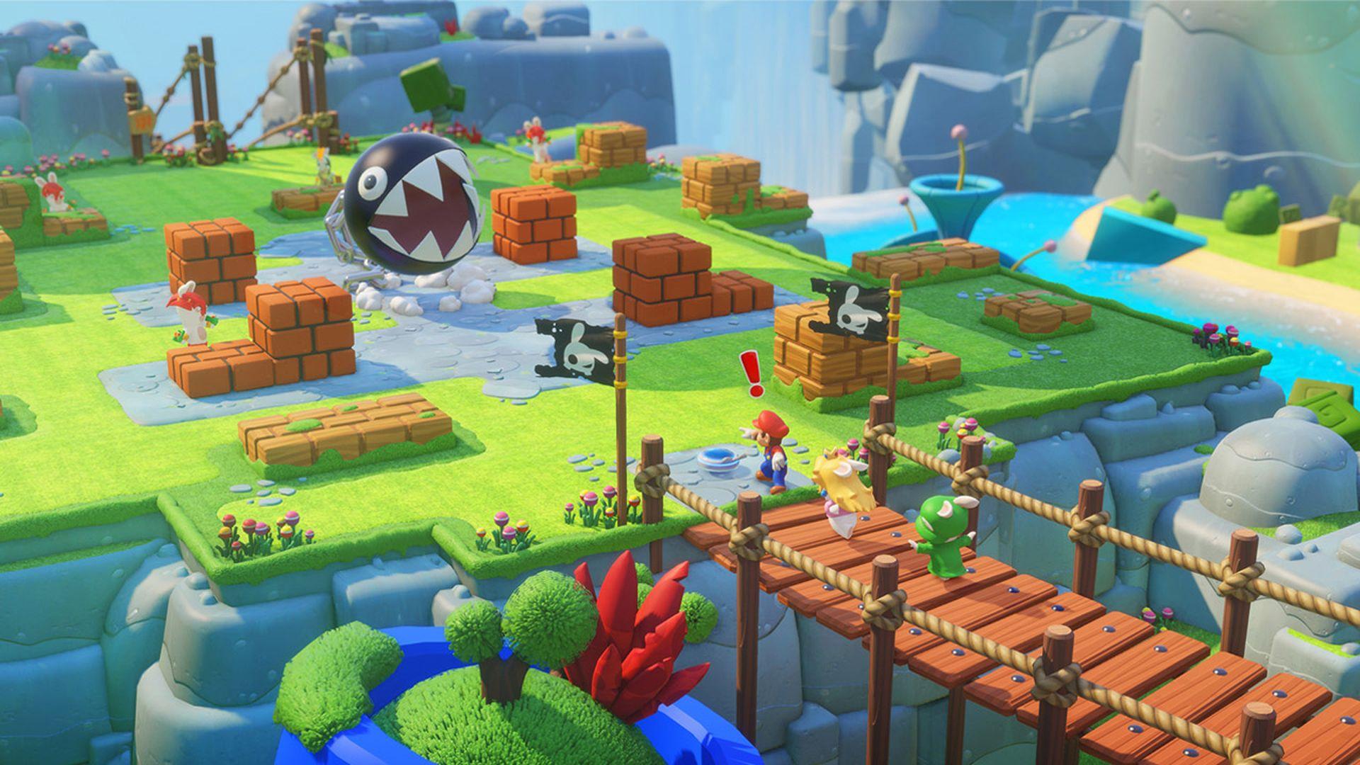 Mario + Rabbids Kingdom Battle recensione