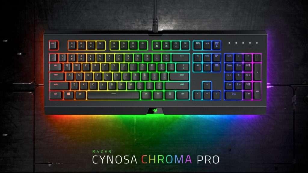 razer cynosa chroma pro tastiera pc