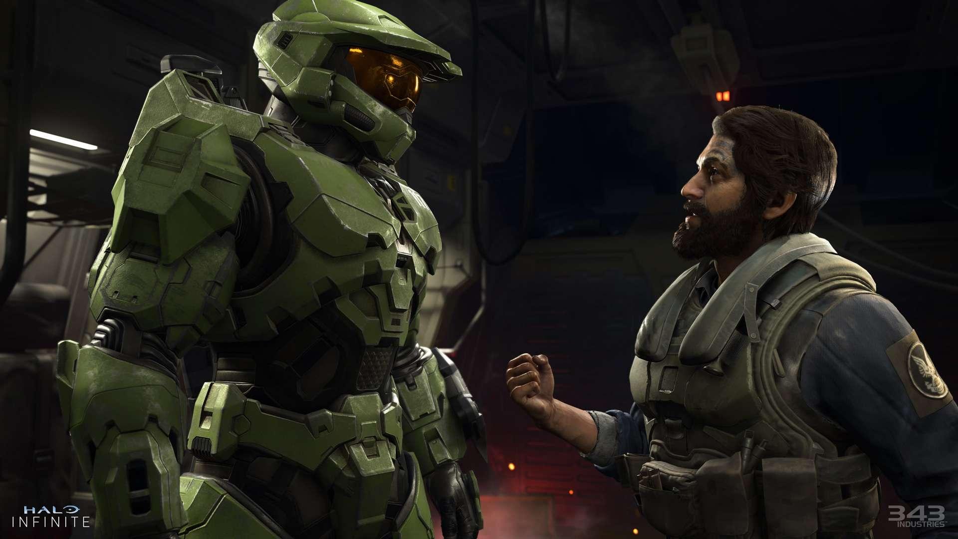 Halo Infinite Master Chief Xbox Game Showcase Anteprima
