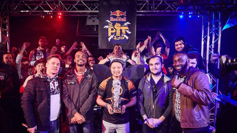red bull the pit psycho boobs victory final