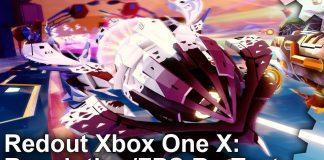 redout xbox one x digital foundry