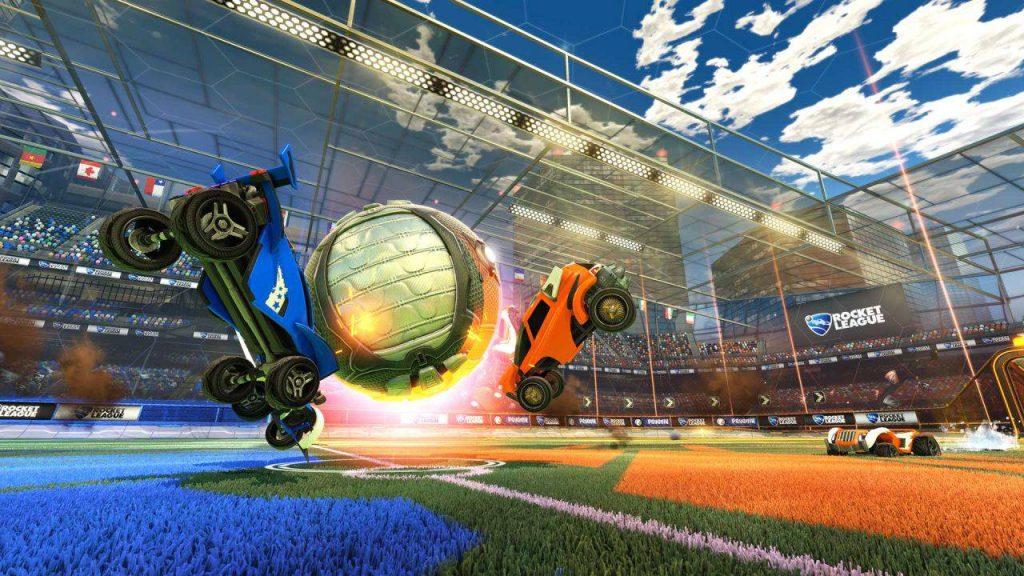 rocket league blue vs orange
