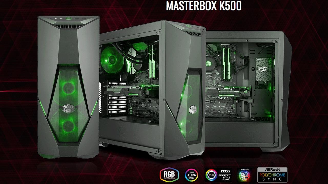 Cooler Master presenta MasterBox K500 e K500L, i primi di