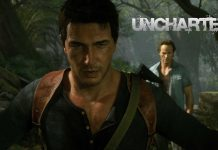 uncharted wall