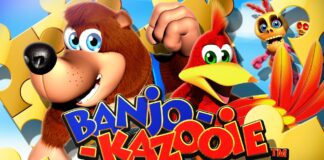 banjo kazooie wall