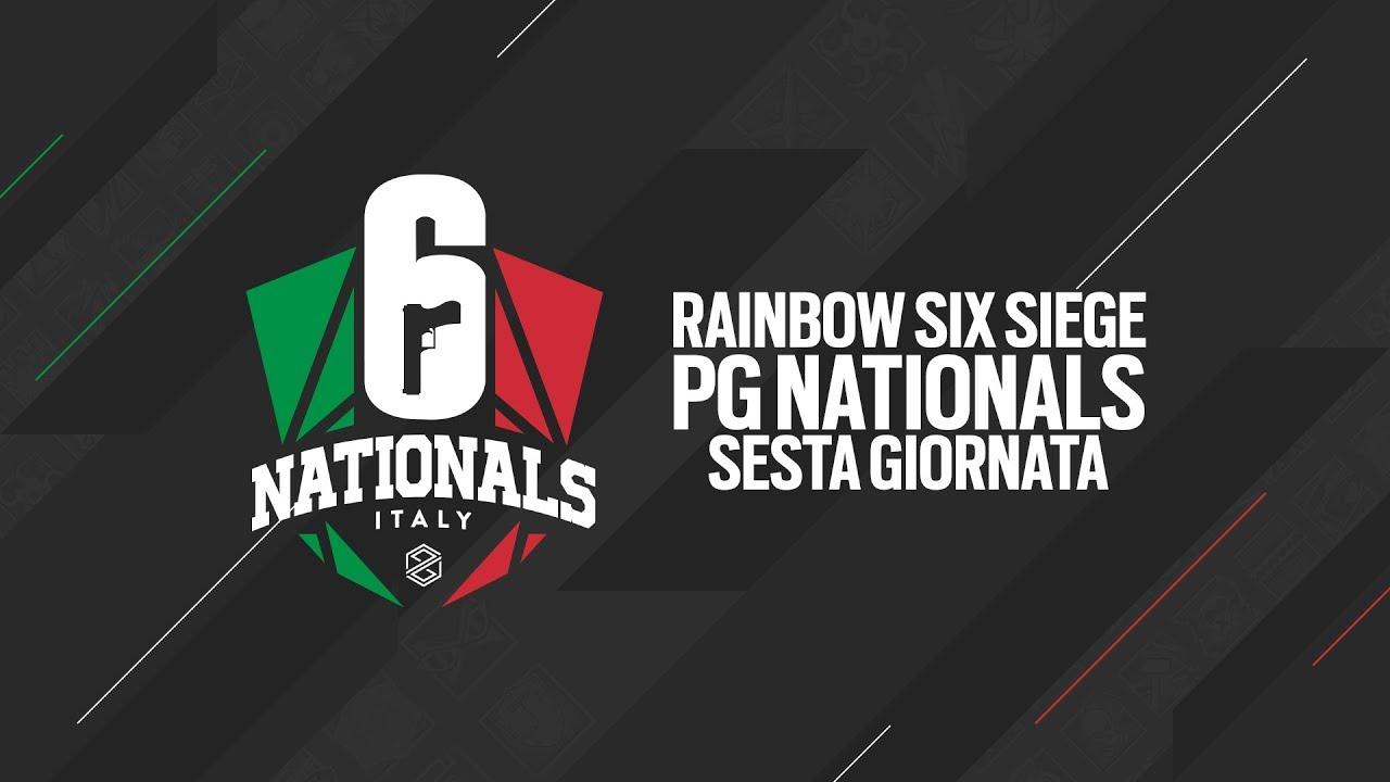 Rainbow Six Siege PG Nationals