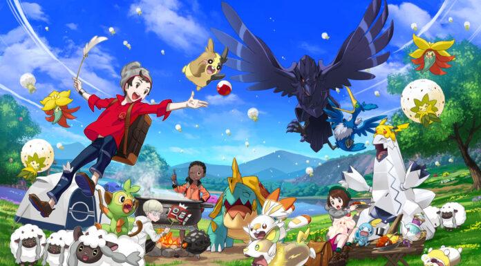 Pokémon Spada e Scudo Switch