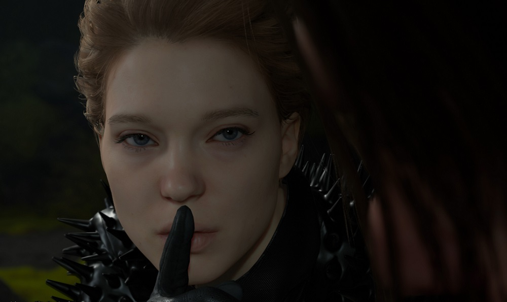 Lea Seydoux Fragile Kojima PlayStation 4