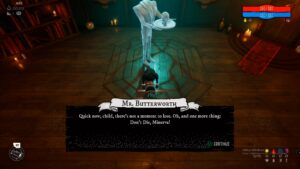 Don't Die, Minerva! Mr. Butterworth