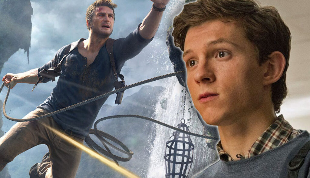 Tom Holland-Uncharted