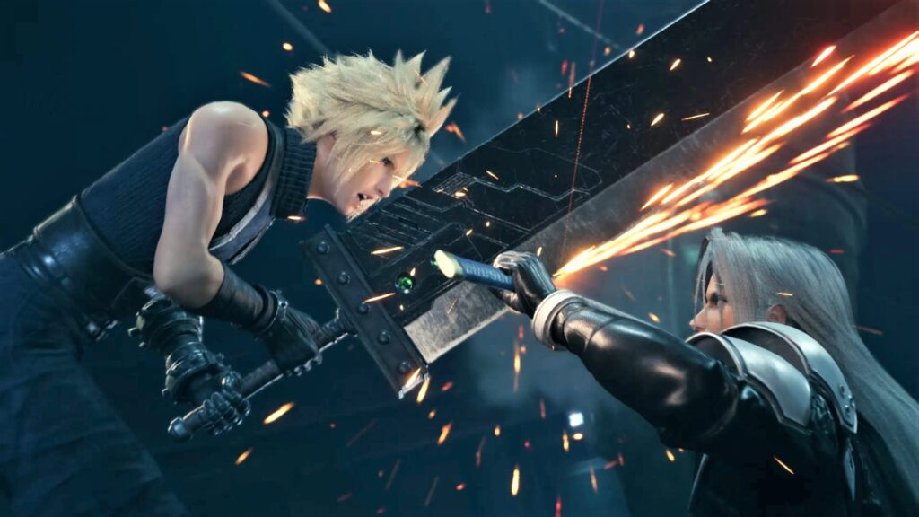 Final Fantasy VII Remake Cloud Sephiroth