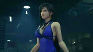 final fantasy 7 remake tifa blue dress