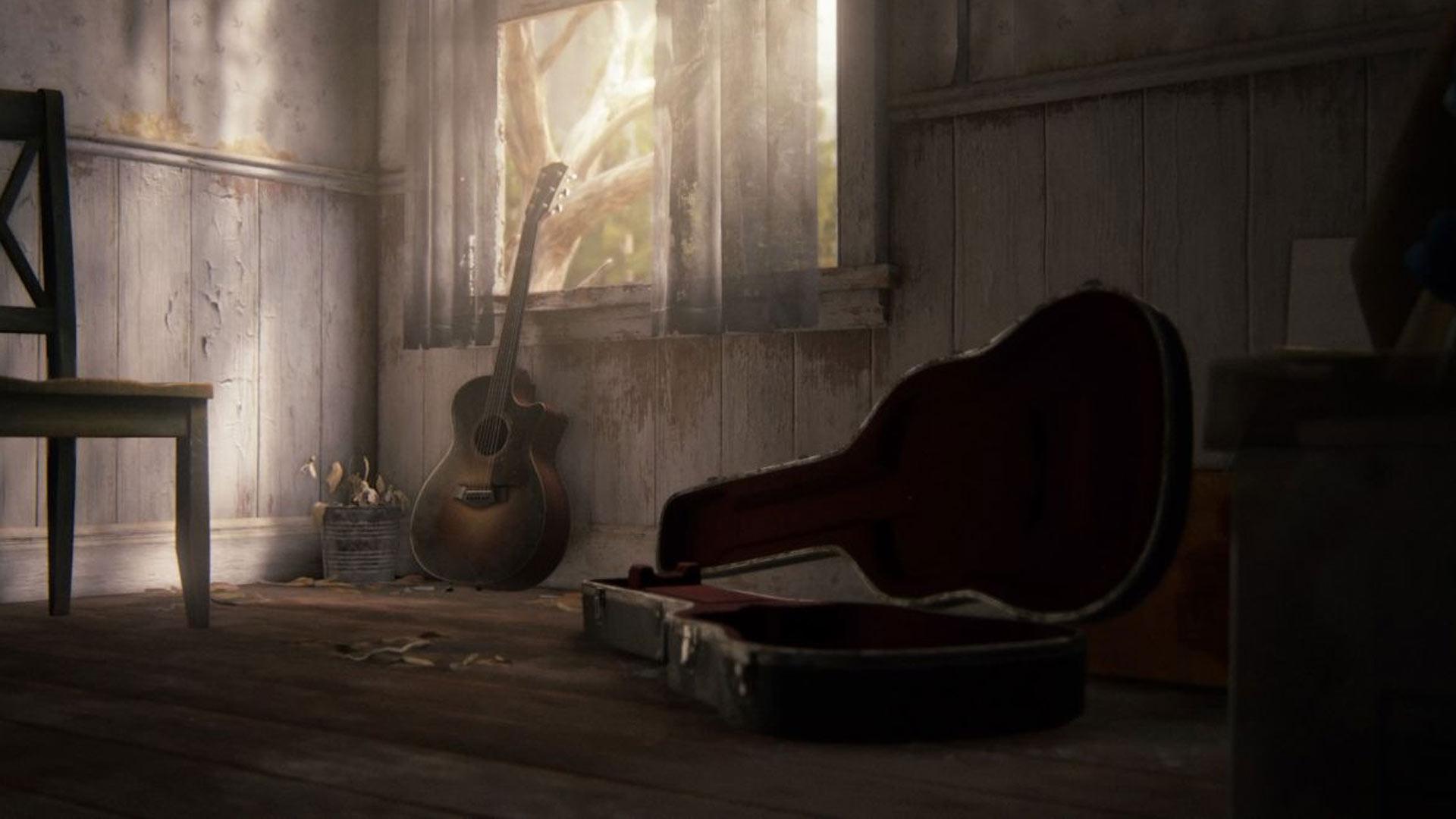 Chitarra finale The Last of Us Part II spoiler