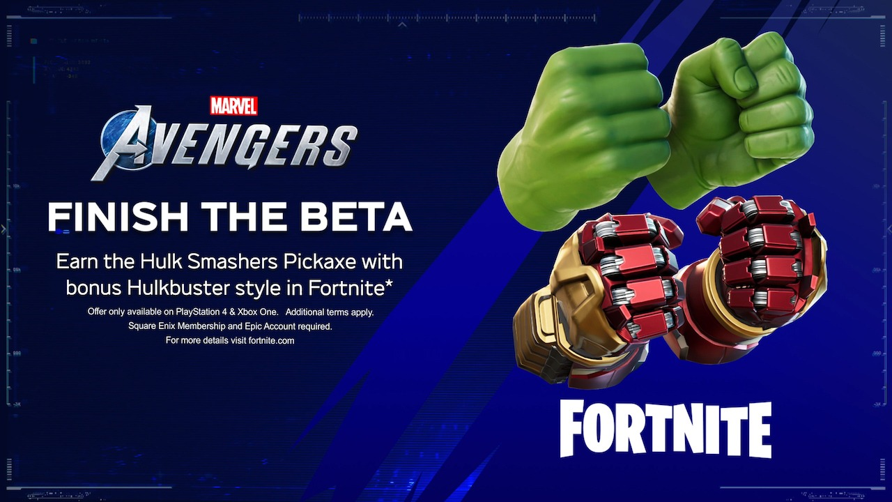 Marvel's Avengers Fortnite
