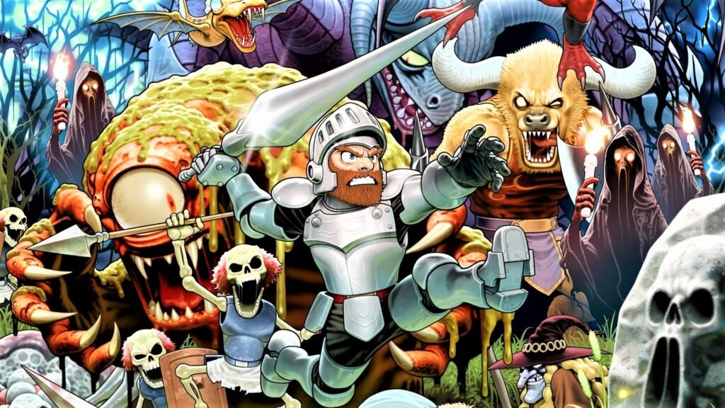 Ghosts'n Goblins Capcom Arcade Stadium