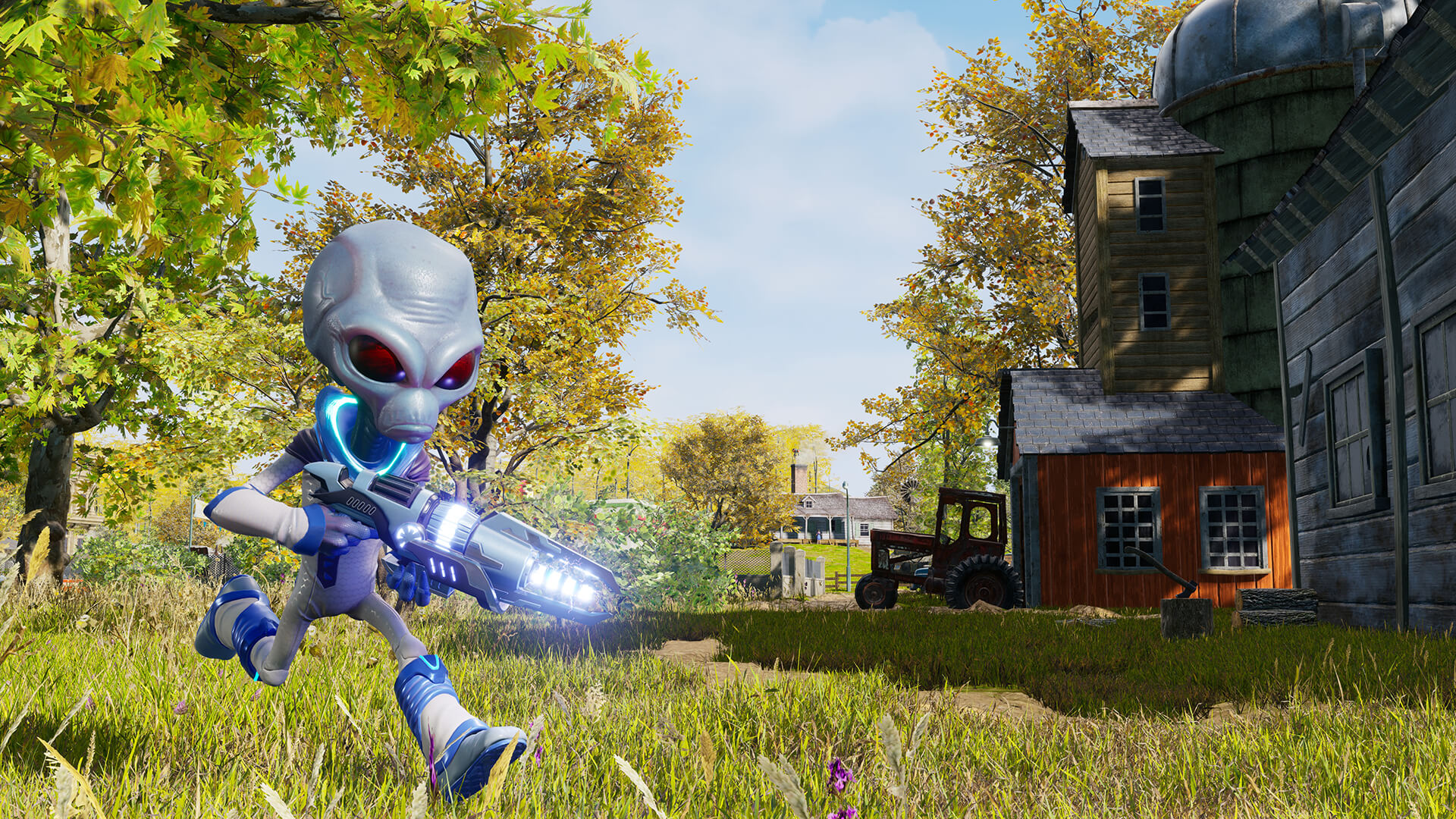 Crypto Destroy All Humans remake recensione