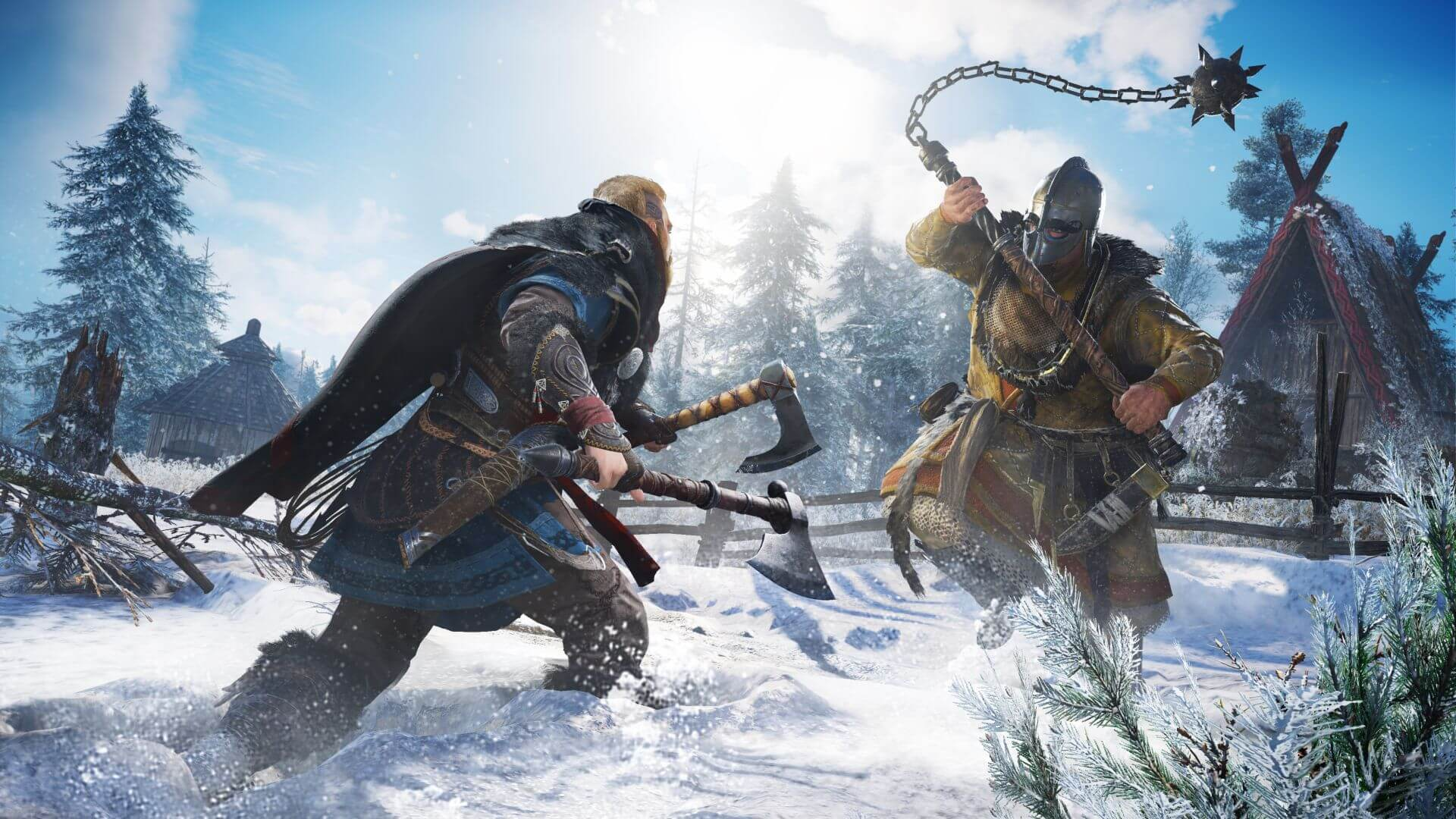Assassins Creed Valhalla recensione combattimento next-gen Assassin's Creed Valhalla