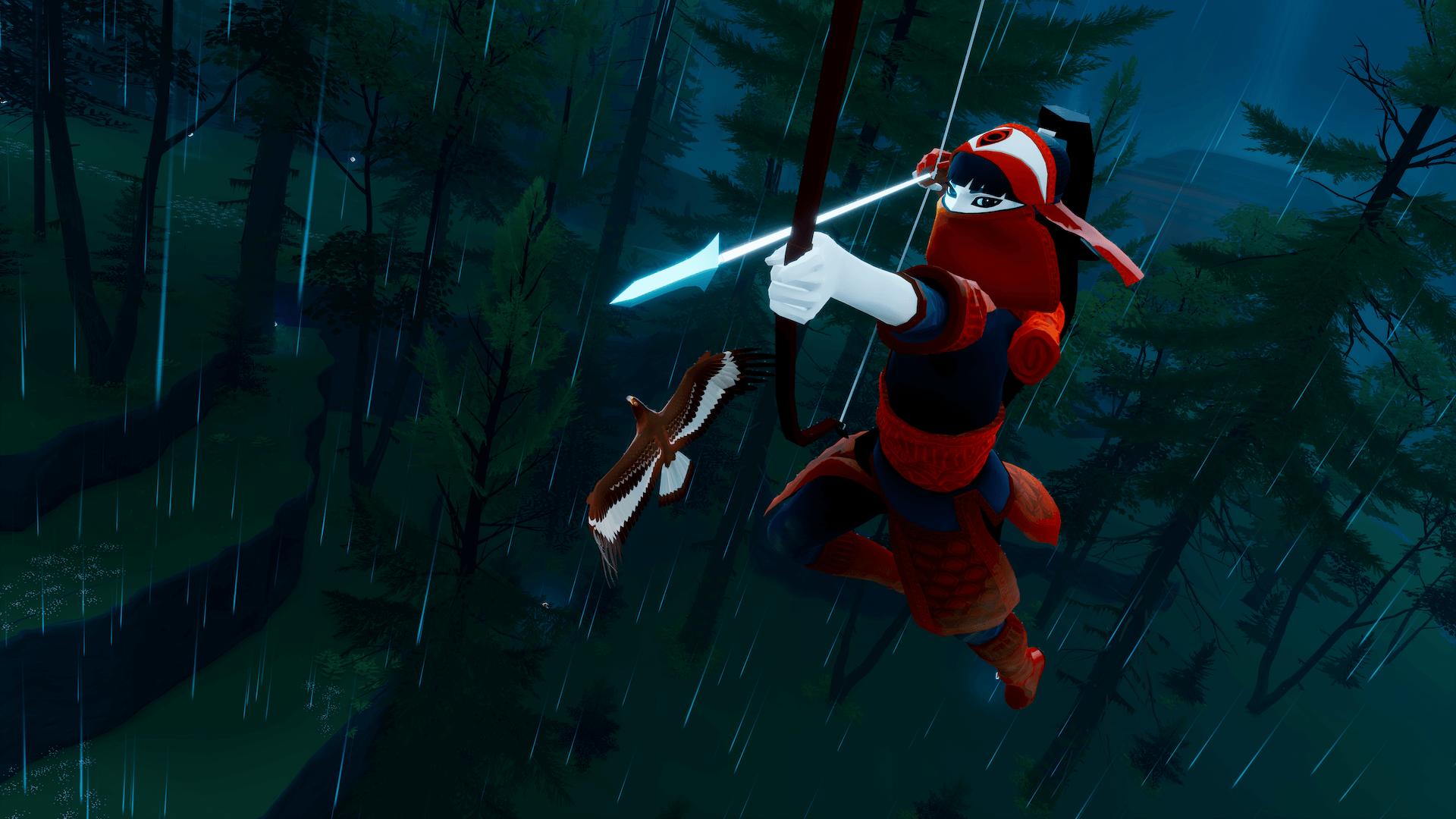 La cacciatrice e la sua Aquila.