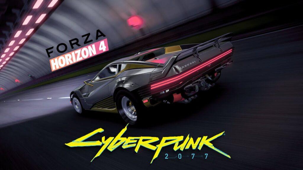 Forza Horizon 4-Cyberpunk 2077