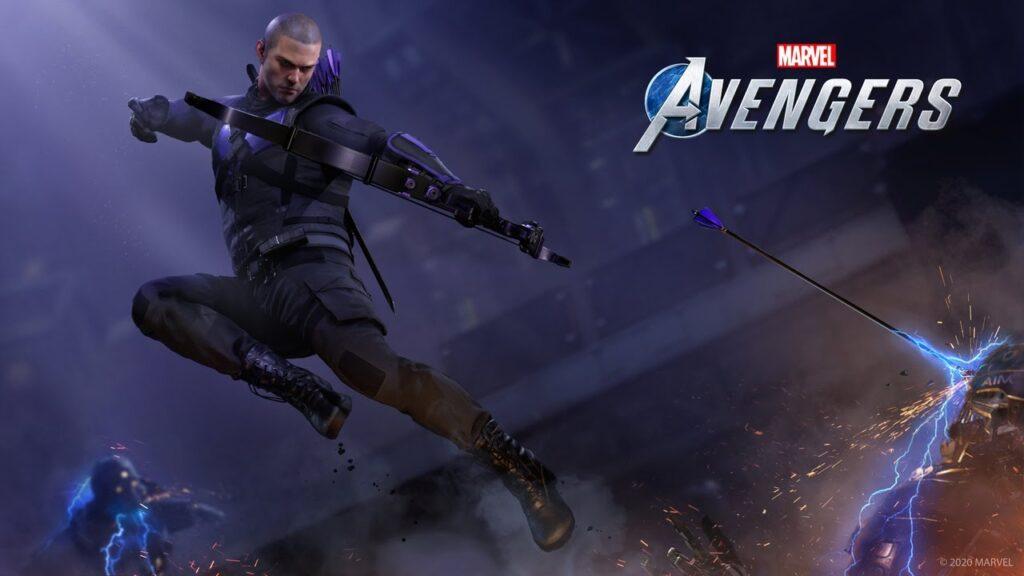 Marvel's Avengers-Hawkeye