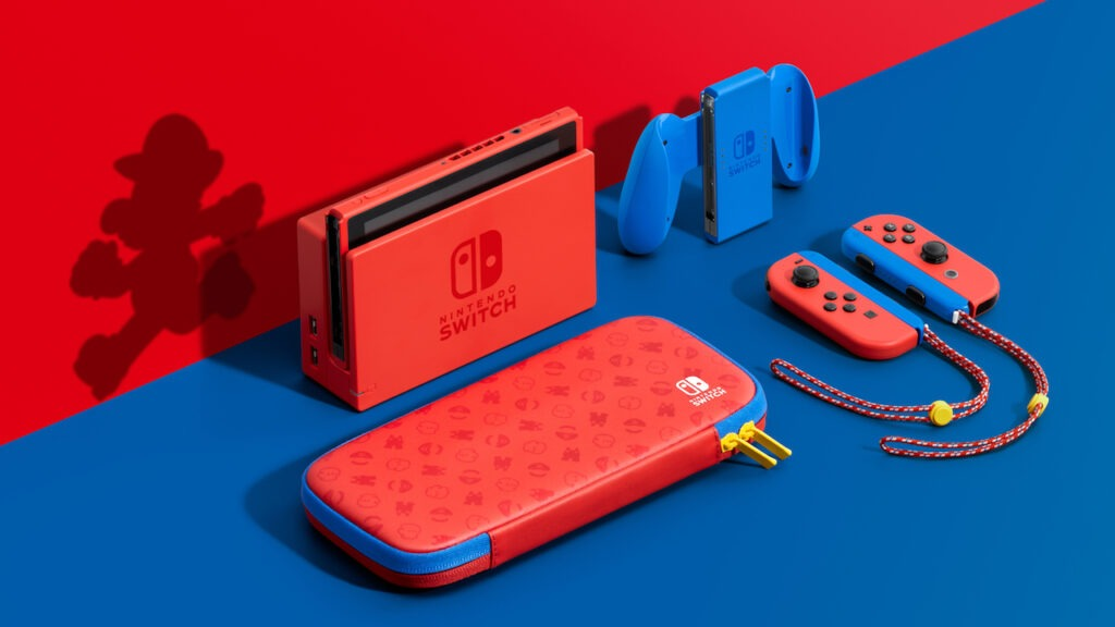 Nintendo Switch-Super Mario edition