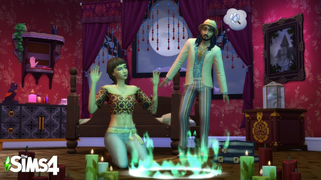 The Sims 4 Fenomeni Paranormali Stuff Pack