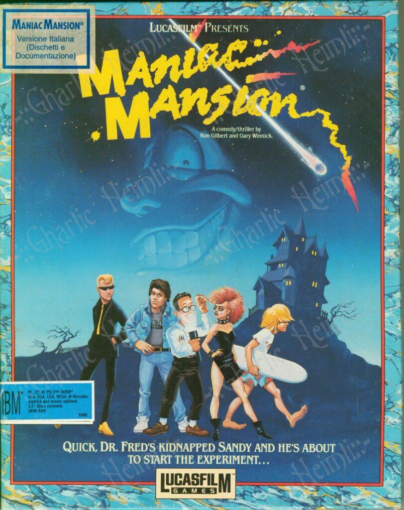 Maniac Mansion videogiochi