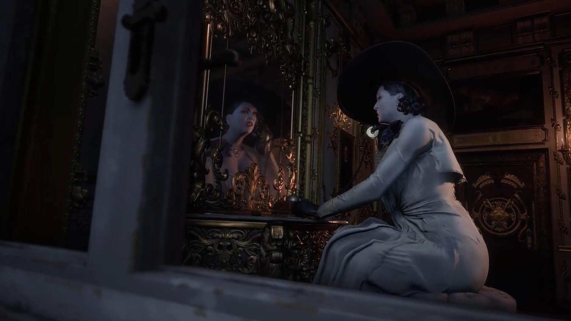 Olga, la formosa e fascinosa vampira.