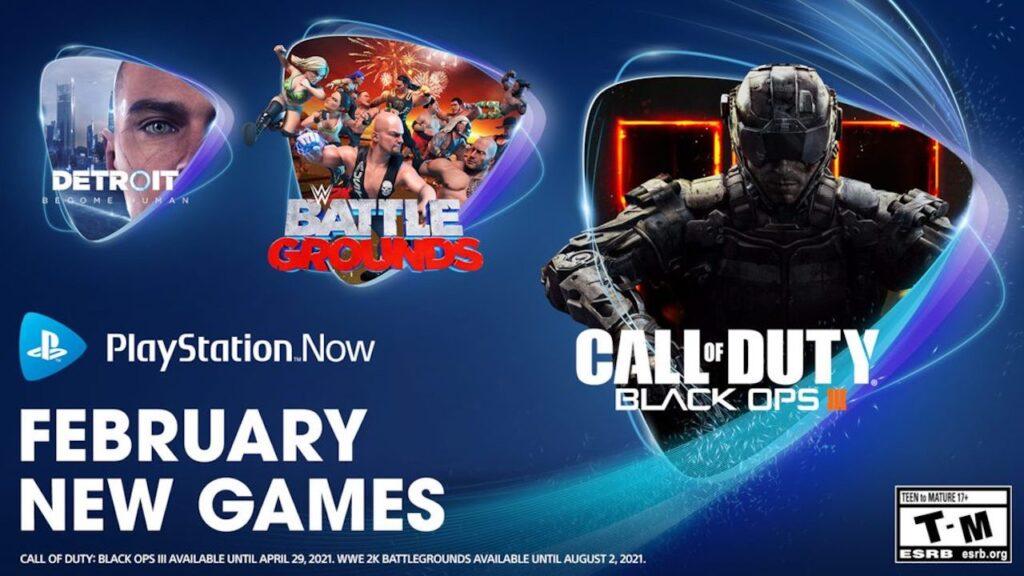 PlayStation Now-Febbraio 2021