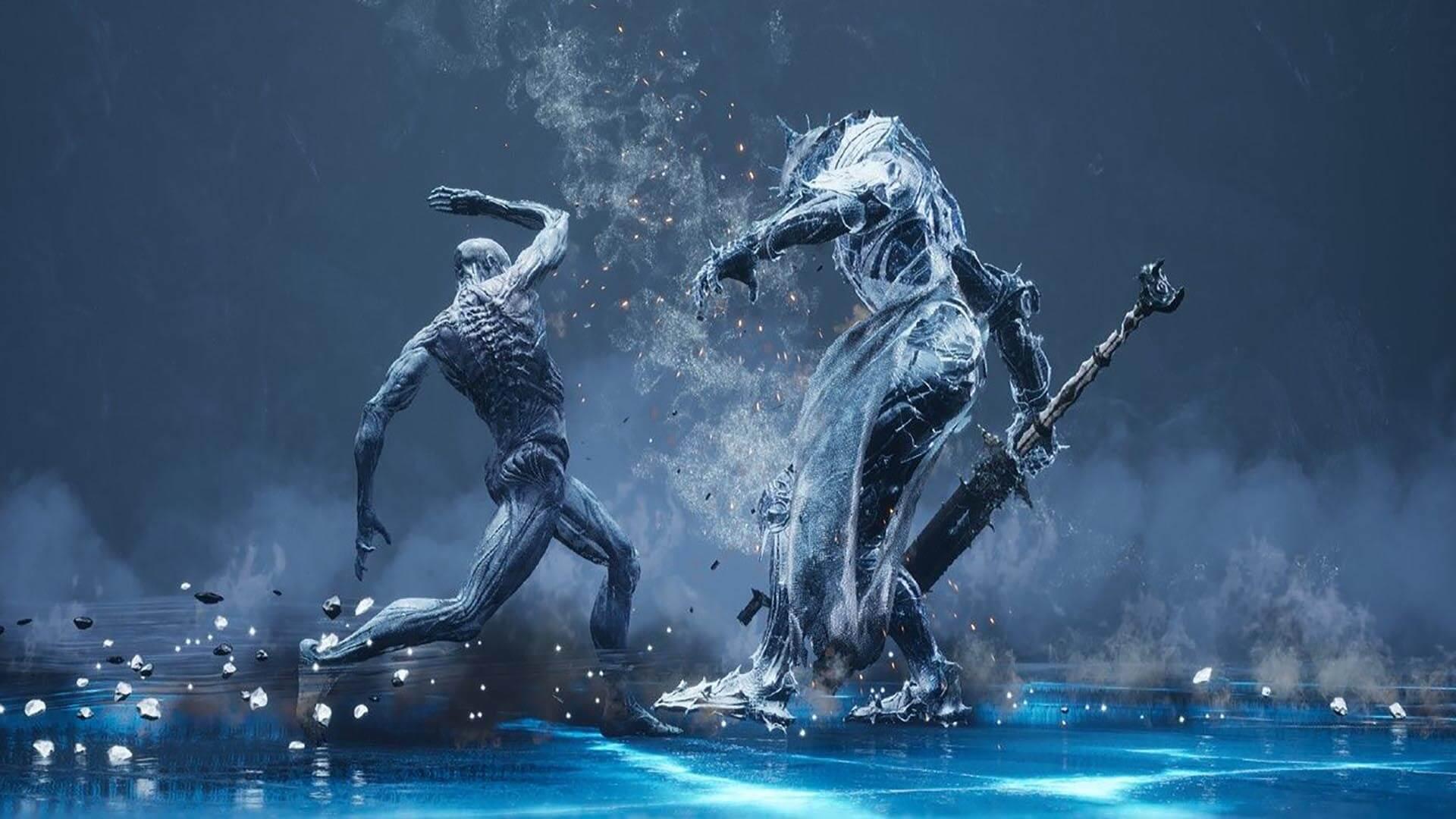 I combattimenti di Mortal Shell: Enhanced Edition risultano ancora più spettacolari.