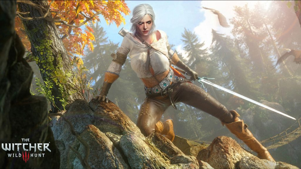 The-Witcher-3-Wild Hunt-Ciri