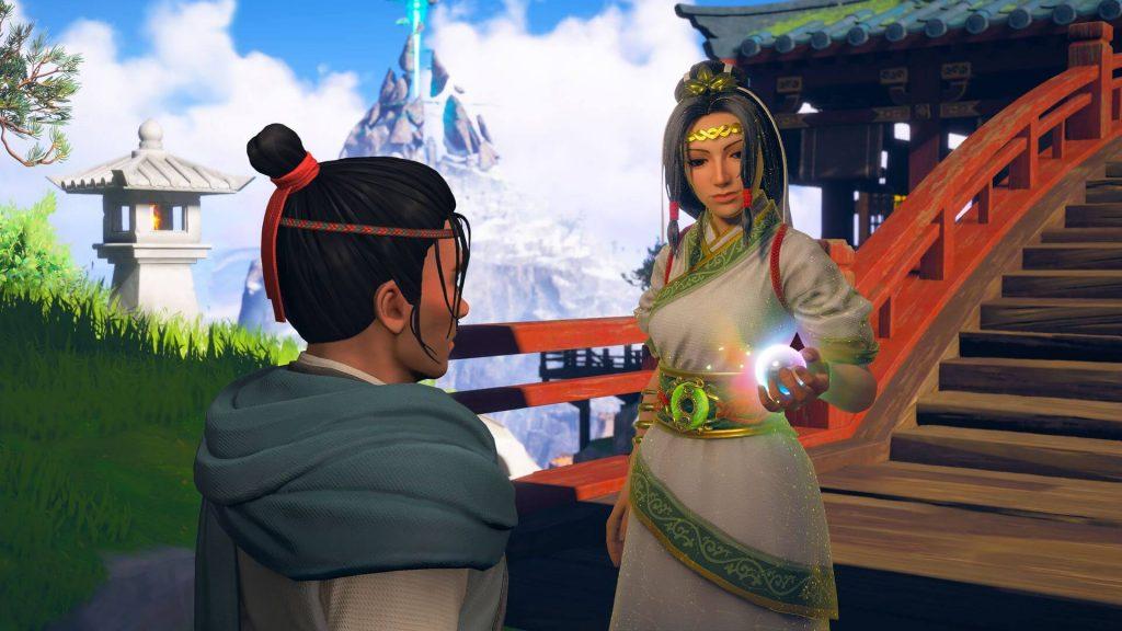 Immortals Fenyx Rising Miti del Regno D'Oriente Ku Nuwa
