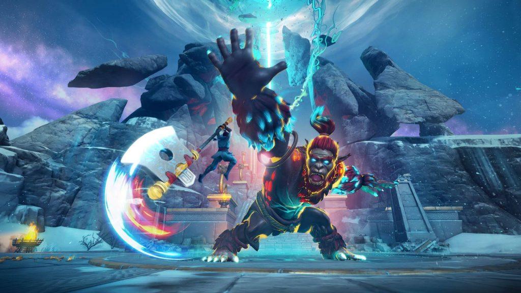 Immortals Fenyx Rising Miti del Regno D'Oriente combattimento