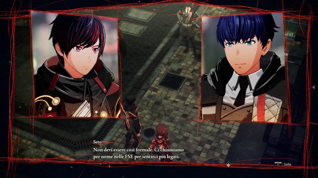 """Una """"cut scene"""" iniziale dove già vediamo un minimo di Scarlet Nexus con Yuito"""