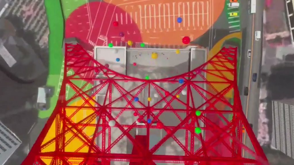 Tokyo Tower Bungee VR Realtà virtuale