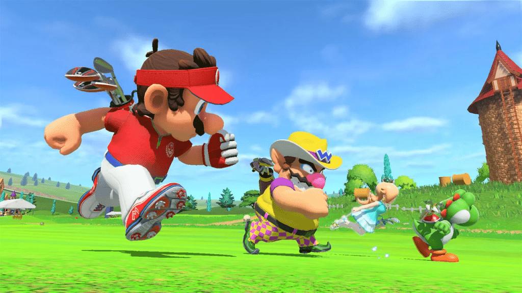 Mario Golf Super Rush 2