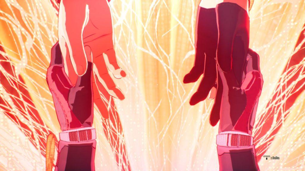 Una delle scene più importanti di Scarlet Nexus, gioco di Bandai Namco uscito lo scorso 25 giugno 2021
