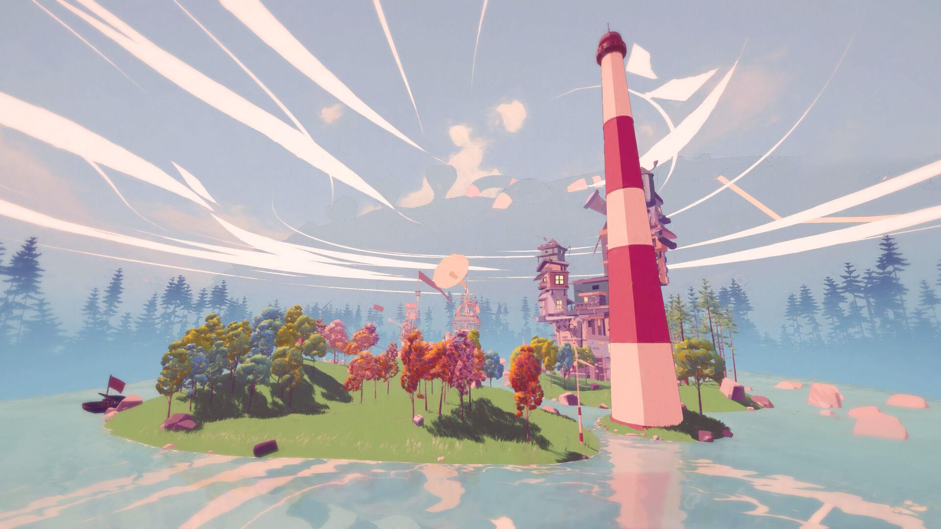 Il gioco alterna meravigliosi panorami color pastello ad ambienti più chiusi e claustrofobici.