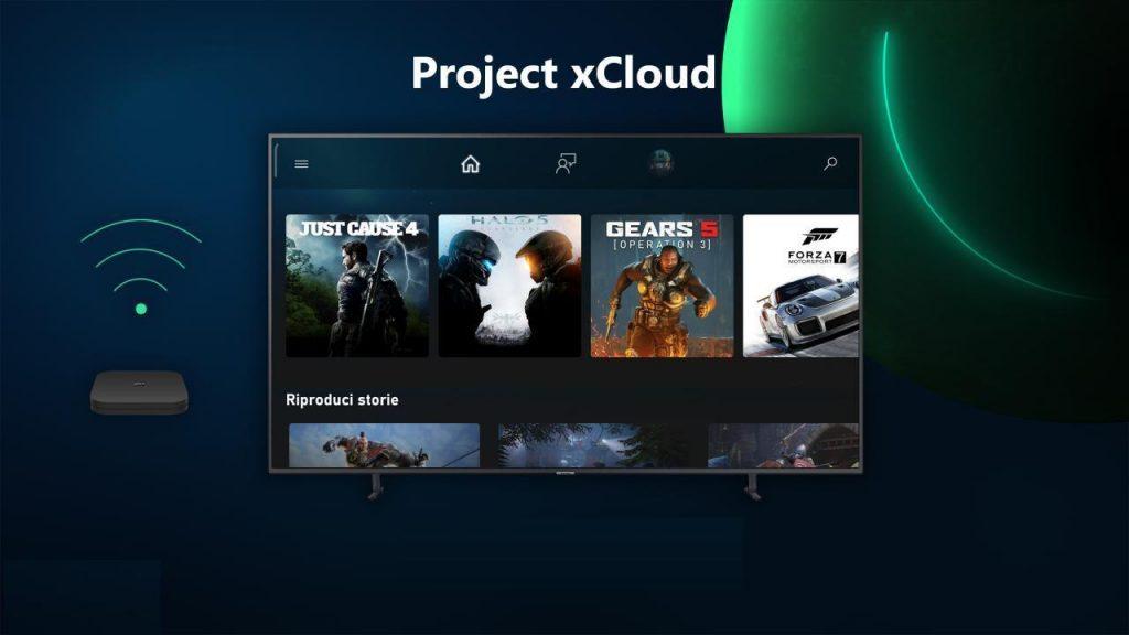 xCloud-TV