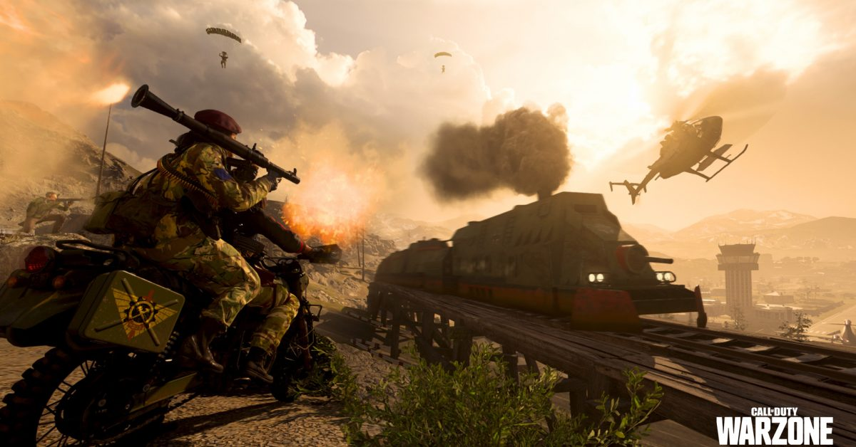 Call of Duty: Warzone - Alcuni giocatori hanno deciso di fermare il treno  in modo fantasioso