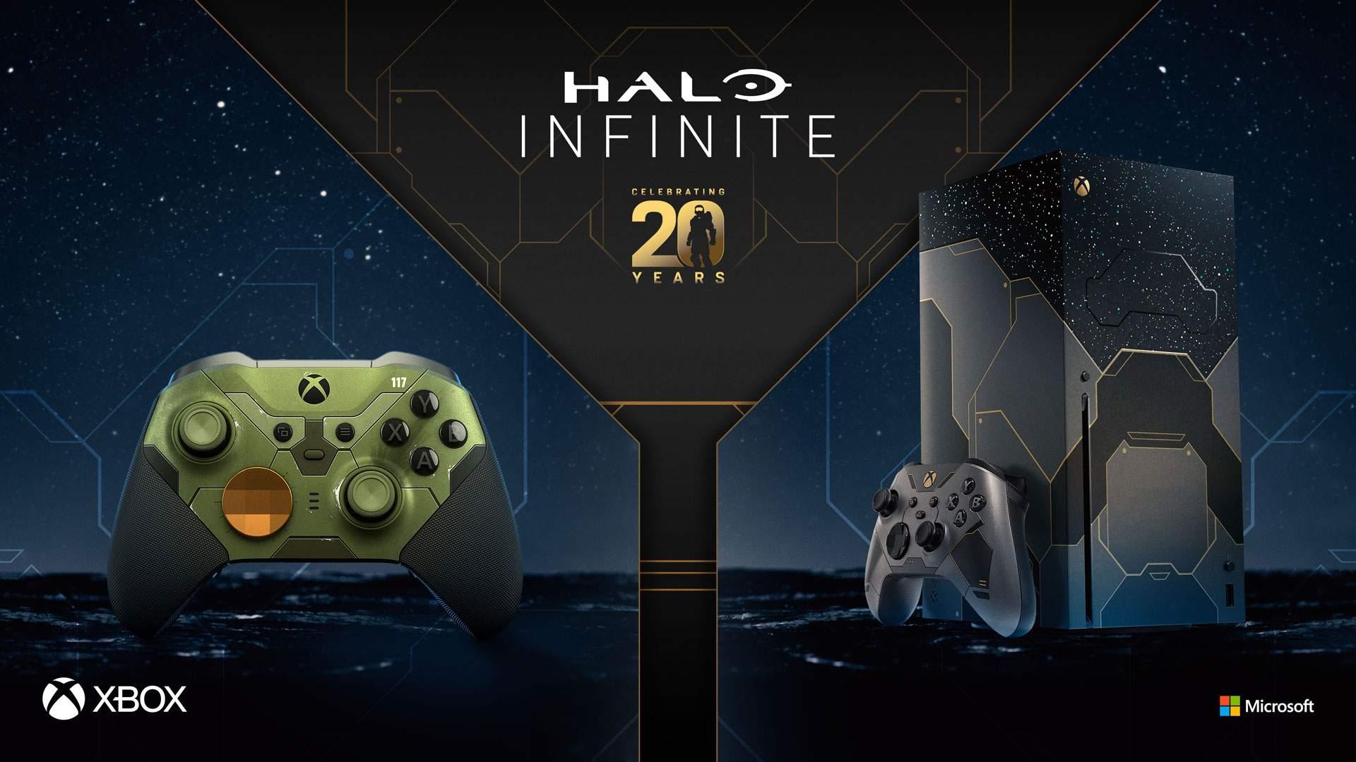 Xbox Series X di Halo Infinite