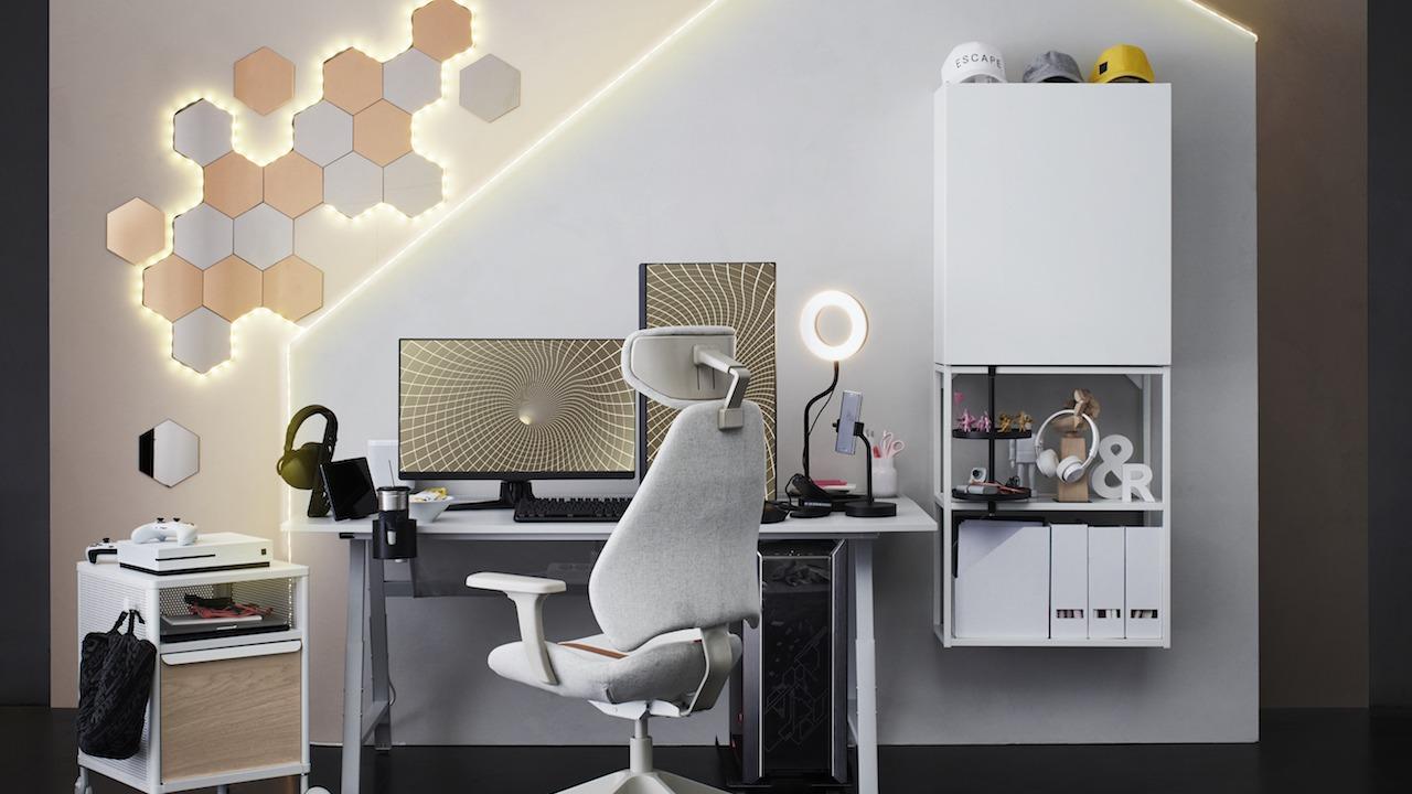 IKEA GAMING WHITE
