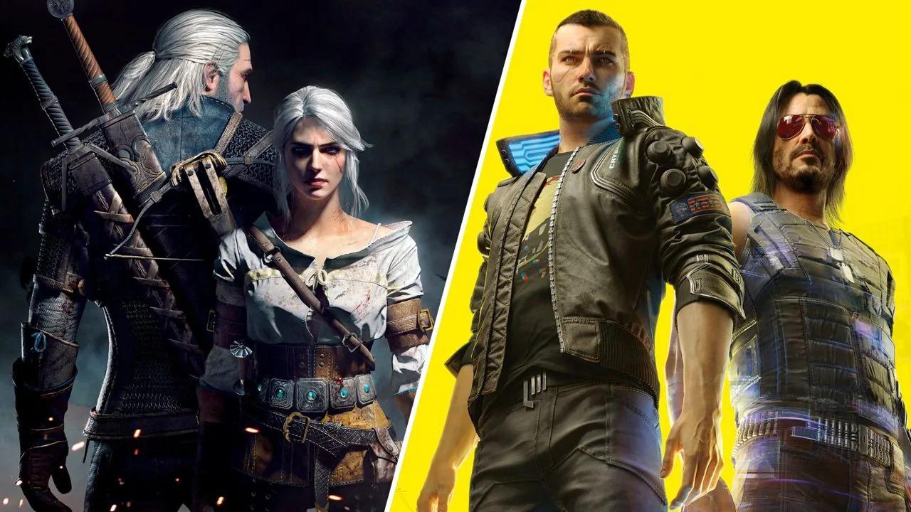 Cyberpunk 2077 e The Witcher 3- Wild Hunt