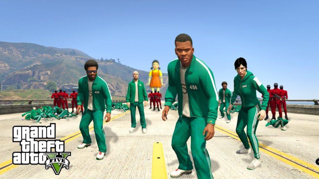 GTA ONLINE SQUID GAME